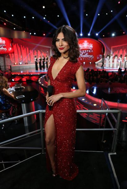 Su aparición en la octava gala de Nuestra Belleza Latina conquistó al pú...