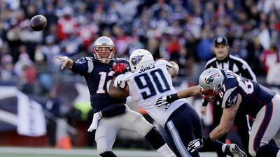 Patriots 33-16 Titans: Brady le ganó la partida a Mariota y NE sostiene...
