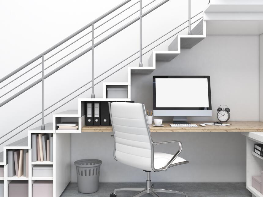 Ideas para decorar el espacio bajo las escaleras univision for Ideas para bajo escalera