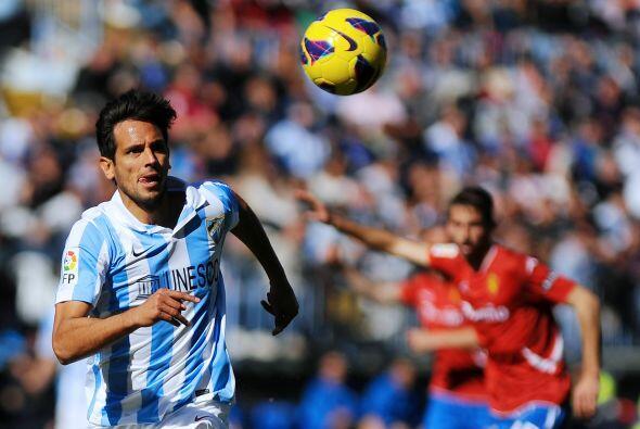 Por último, Málaga volverá a depender del veterano Roque Santa Cruz,un v...