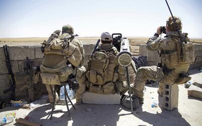 Tropas estadounidenses en territorio iraquí.