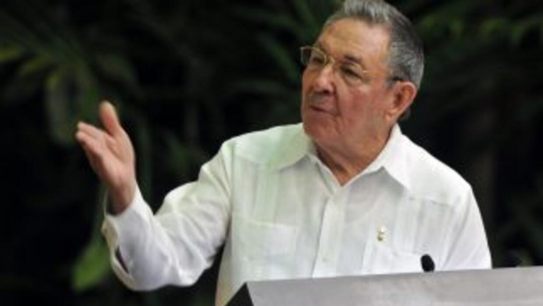 El presidente cubano, Raúl Castro.