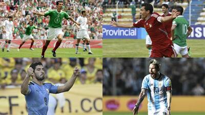 Máximos goleadores en eliminatorias de Concacaf y Conmebol