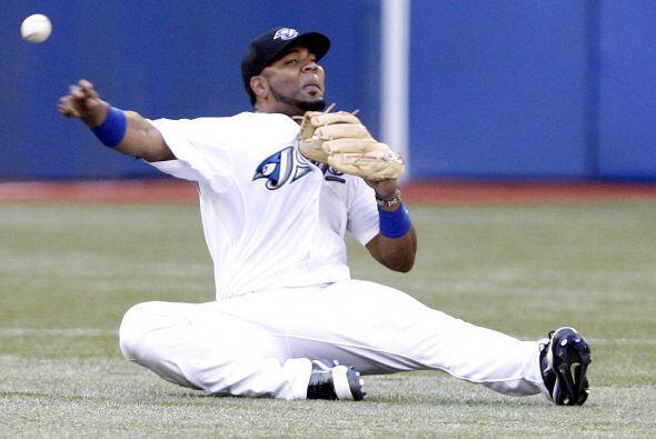 3B. Edwin Encarnación. El antesalista de Toronto bateó para .462 en 13 t...