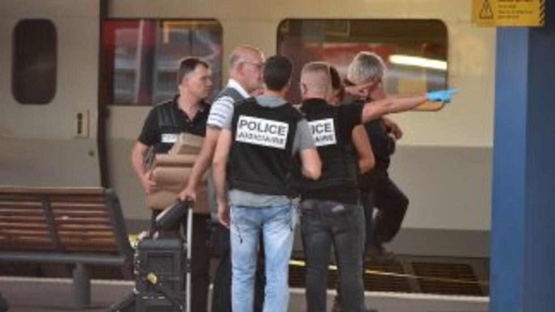 La policia judicial francesa tras el ataque