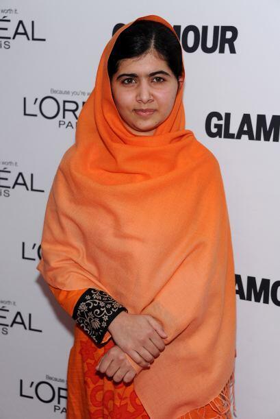 Malala Yousafzai, tiene 16 años, y ha luchado por que las niñas de Pakis...