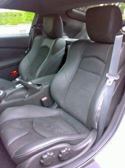Los asientos tienen excelente sujeción lateral.