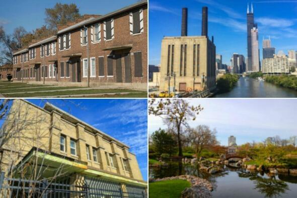 Edificios en peligro de demolición en Chicago