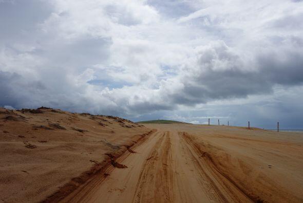 El recorrido tomó algunas horas para llegar a la Laguna Paraíso.