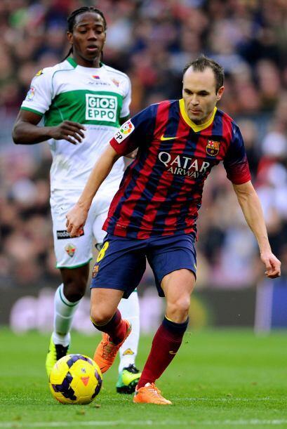 Barcelona se iba adueñando más y más del partido y...
