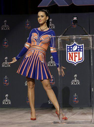 ¿Qué tal el look? (AP-NFL).