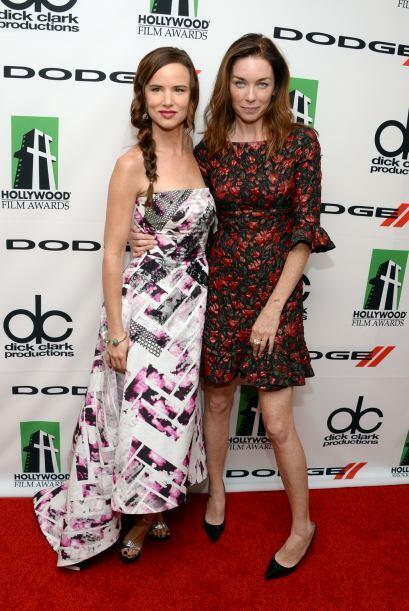 Juliette Lewis y Julianne Nicholson.Mira aquí los videos más chismosos.