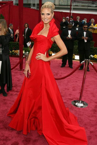 Uno de sus 'outfits' más memorables fue en la alfombra roja del O...