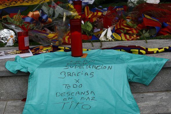 La larga batalla de Vilanova con el cáncer, que le fue detectado en 2011...