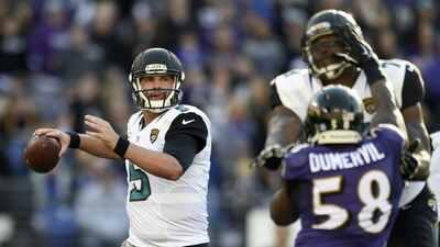 Jaguars 22-20 Ravens: Gol de campo de Jason Myers en la última jugada (v...