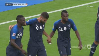 Olivier Giroud... ¡Apareció con un golazo!