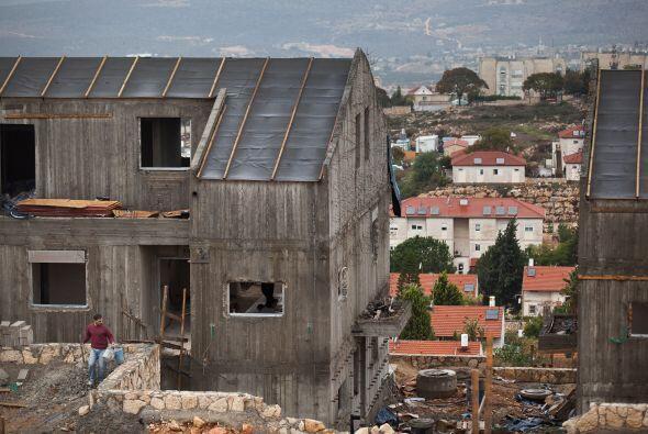 Horas después del reconocimiento de Palestina como Estado observador de...