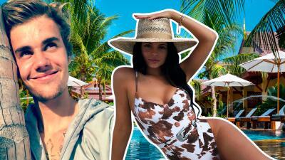 """Kylie Jenner visita el """"paraíso"""" y Justin Bieber pide que lo invite"""