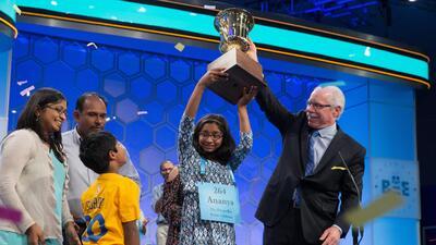 Una niña de Fresno gana el concurso nacional de deletreo