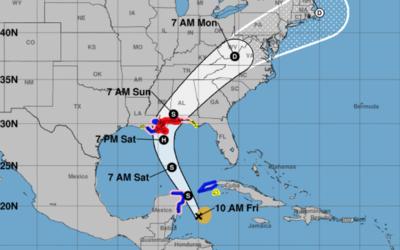 La tormenta tropical Nate se dirige a la Península del Yucat&aacu...