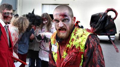 Transfórmate en zombie este Halloween