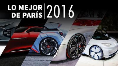 Los cinco mejores autos concepto del Auto Show de París 2016