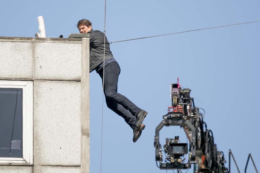 Este no es el primer accidente que sufre Tom Cruise grabando la popular...