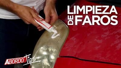 Limpieza de faros delanteros de carro por tan solo $2 | A Bordo Tips