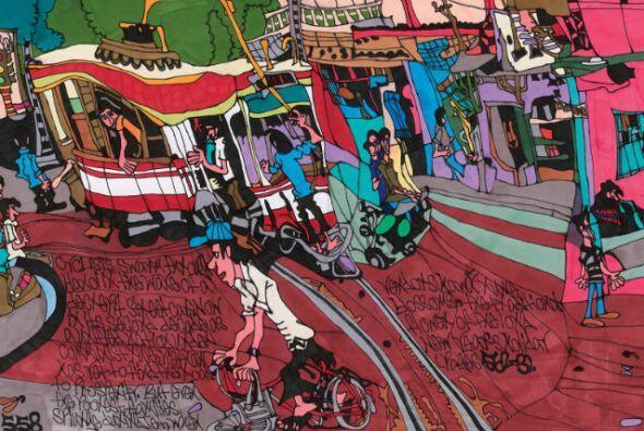 "Shawn Belanger, ""Streetcar in Hanoi""  -""Drawing Autism""&..."
