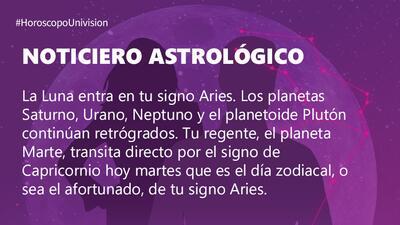 Aries – Martes 28 de agosto de 2018: tu día zodiacal te inspira en todo