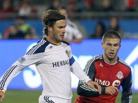 Empate sin goles entre el Toronto y el Galaxy en el partido que ambos ju...