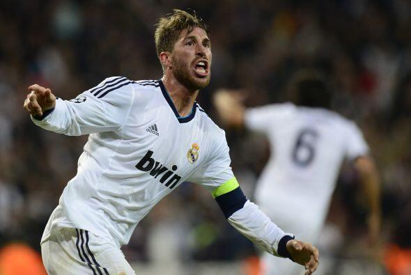 El capitán del Madrid sacó un disparo dentro del área grande y marcó el...