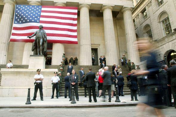 En una rueda de prensa, el alcalde de esta ciudad, Michael Bloomberg, as...