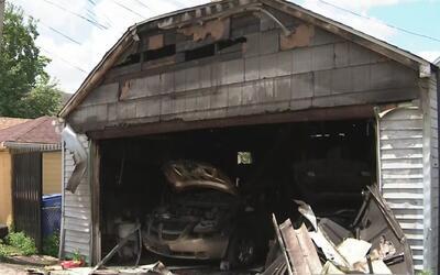 Muerte de una latina tras incendio en un garaje en el barrio de Las Empa...
