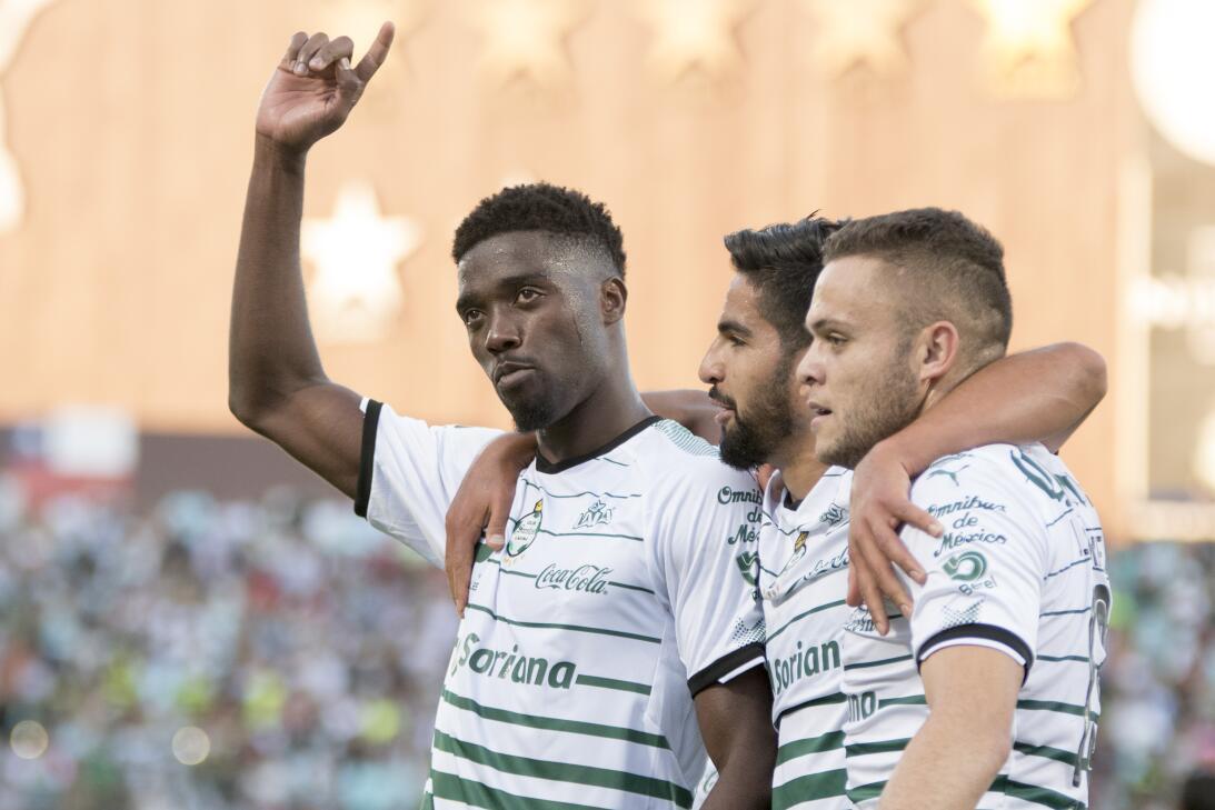 En fotos: Resumen de la Jornada 14 del Clausura 2018 santos-3-0-queretar...