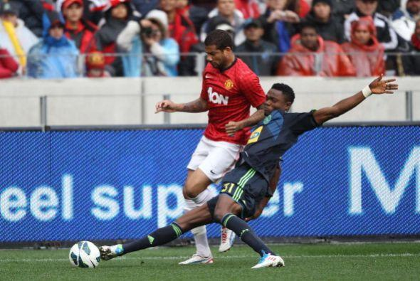 El cuadro dirigido por Sir Alex Ferguson empató 1-1 con el Ajax Cape Town.