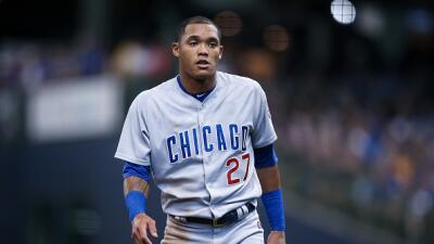 Por violencia doméstica, MLB suspende al campocorto de los Chicago Cubs