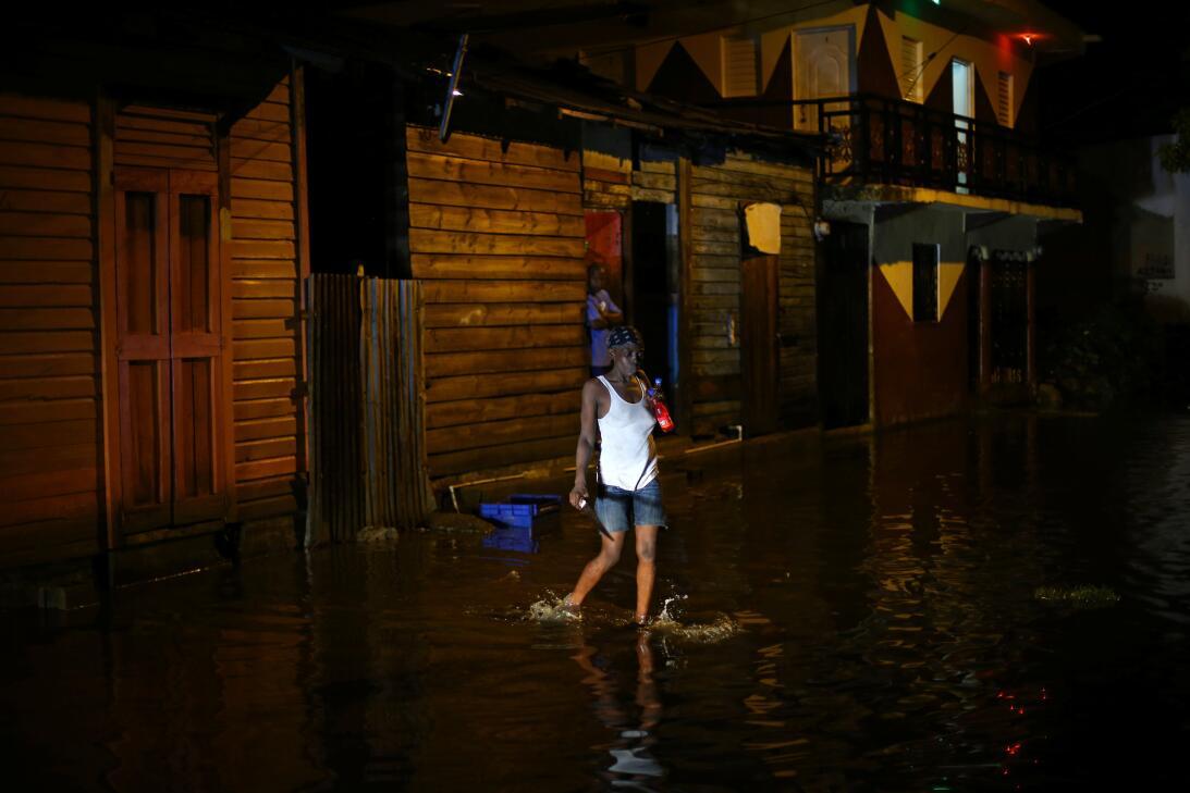 Las calles de Puerto Plata, otra población costera de República Dominica...