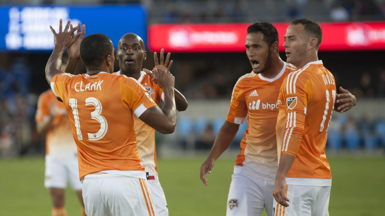 Houston Dynamo derrotó por 2-0 a San Jose Earthquakes