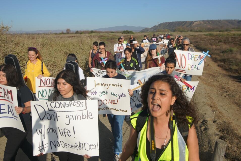 Dreamers en la frontera