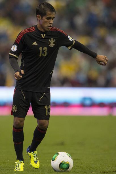 Severo Meza.- El lateral derecho de Rayados es un jugador de las confian...