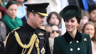 Los Duques de Cambridge asisten al desfile del Día de San Patricio