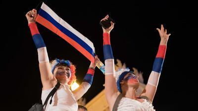 En fotos: Rusia festeja lo que podría ser un histórico pase a segunda ronda