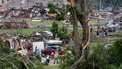La furia de la naturaleza continúa afectando con tornados a Texas