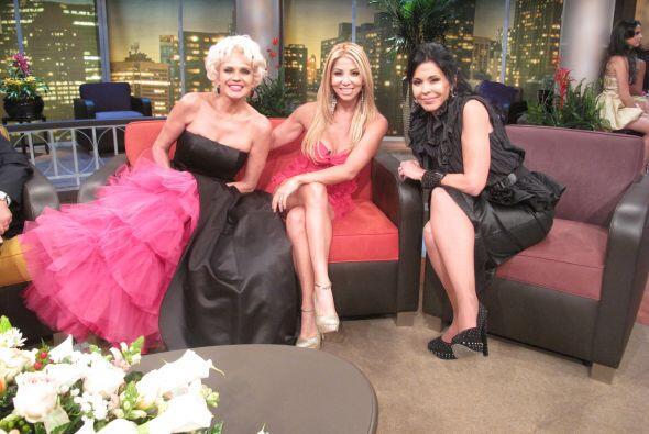 Las tres son mujeres intensas y muy divertidas.