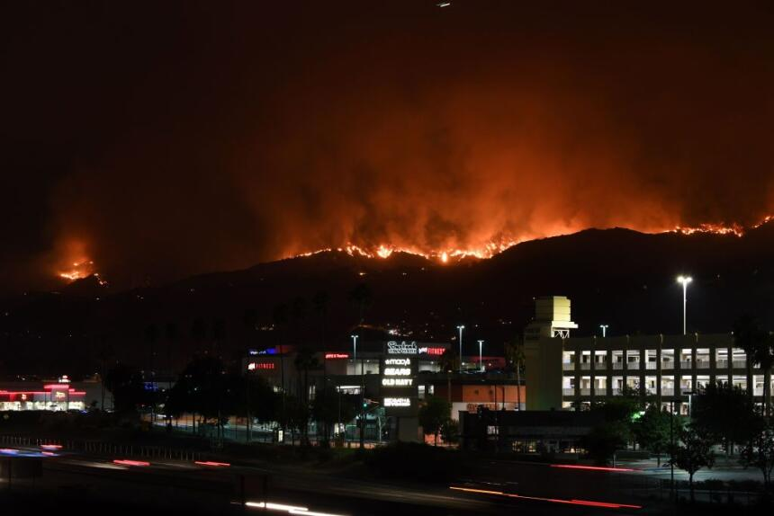 fuego en California