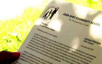 Notifican a padres de alumnos de la primaria John Spry de La Villita sob...