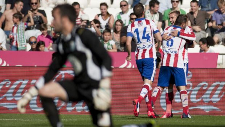 Después de 3 partidos sin ganar como visitante, el Atlético volvió a hac...