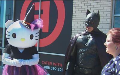 """""""Superhéroes"""" en San Antonio colectan juguetes para niños con enfermedad..."""