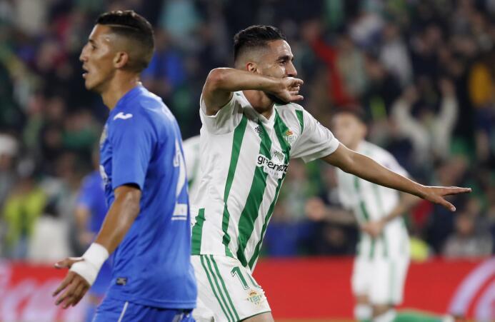 Con Guardado, el Betis rescató un punto en su estadio ante el Getafe 636...